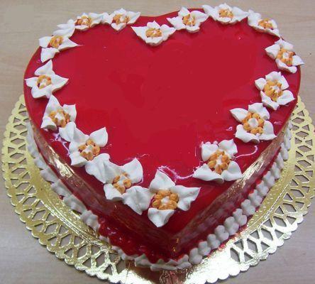 Pastacı Pasta yolla  kalp biçiminde yas pasta özel kisilere