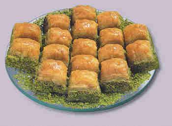 tatli satisi essiz lezzet 1 kilo fistikli baklava